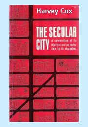Harvey  Cox, Secular City